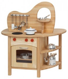 Glückskäfer Kids Wooden Play Kitchen
