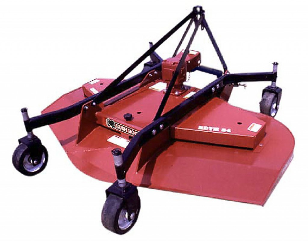 Bush Hog finishing mower