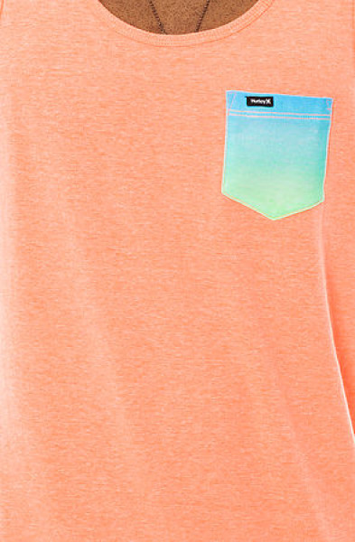 pocket neon tank top